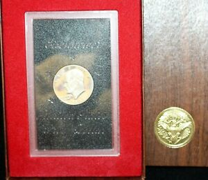 1971-U-S-Silver-Eisenhower-Dollar-Proof-In-Box-and-Sealed-In-Holder