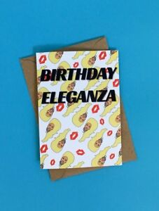 Image Is Loading Birthday Eleganza RuPaul Heads Drag Queen Card