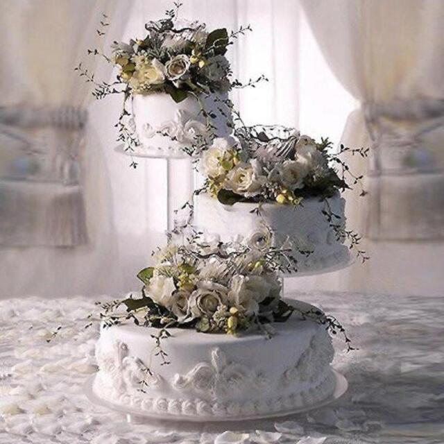 3 Tier Cascade Wedding Cake Stand Style R307