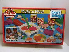 Vintage 1989 Kenner Play-Doh Make-a-Meal chef's Skillet NOS