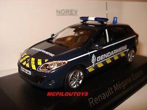 NOREV-RENAULT-MEGANE-ESTATE-GENDARMERIE-YELLOW-STRIPPING-2012-au-1-43