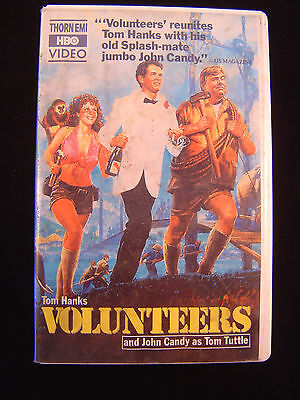 Volunteers BETA Format Movie Tom Hanks John Candy Rita Wilson 1985 Video