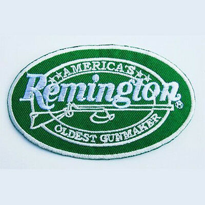 REMINGTON Firearm Manufacturer Embroidered Patch...