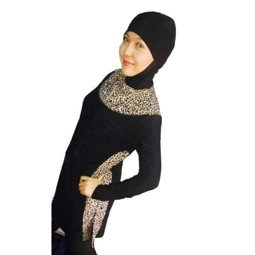 Muslim Swimwear Women Full Cover Modest Beachwear Islamic New Burkini Swimsuit