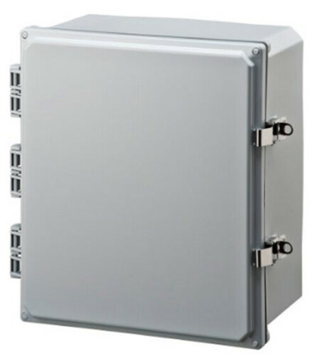 "Integra Enclosures H12104HLL Premium Line Enclosure Hinged 12/"" x 10/"" x 4/"""