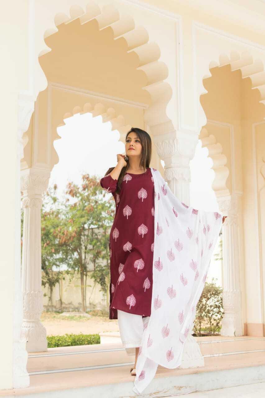 Women Pakistani Dupatta Salwar Kameez Bollywood Kurta Palaazo Top Tunic Combo
