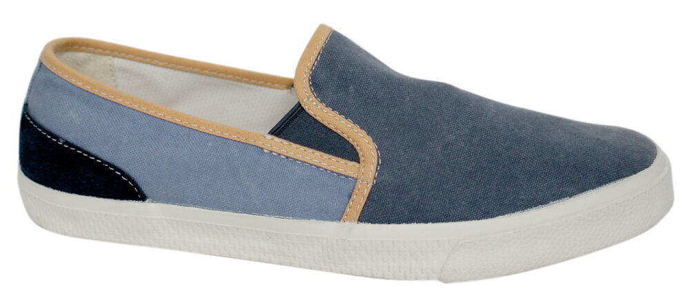 Timberland Hookset Camp Canvas Mocassini Scarpe Da Uomo Blu 9118b d65 | Up-to-date Styling