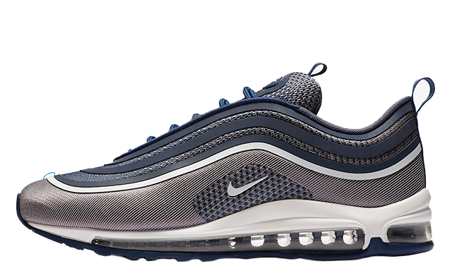 the latest 54e57 45aed Nike Air Max 97 UL 17 Ultra Navy White Men Running Shoes SNEAKERS  918356-402 10