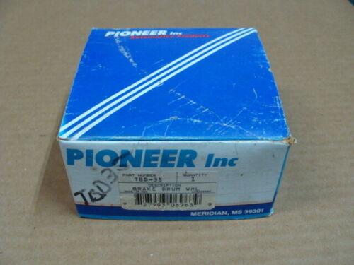 "Pioneer TBD-35 Brake Drum Grinding Wheel 4/"" x 1//2/"" x 1/"" Same as Goodson GDV-404"