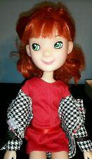 "Tonner 15"" LittleMissMatched Doll Jointed Red Hair - Uptown Girl w extra dresses"