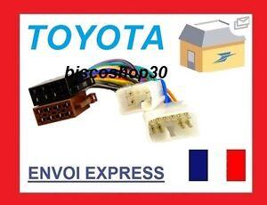 Cable-Adaptateur-Faisceau-ISO-autoradio-voiture-Toyota