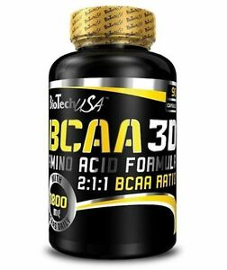 BIOTECH-USA-BCAA-3D-Amino-Acid-Formula-90caps-Leucine-Lsoleucine-BCAA-2-1-1
