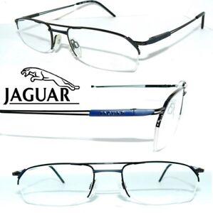 Jaguar-3605-gafas-negro-Titanium-azul-semi-borde-L-type-senores-version-0153