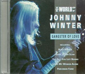 Johnny Winter - The World Of Johnny Winter (Gangster Of Love) (CD, Comp) - Italia - Johnny Winter - The World Of Johnny Winter (Gangster Of Love) (CD, Comp) - Italia