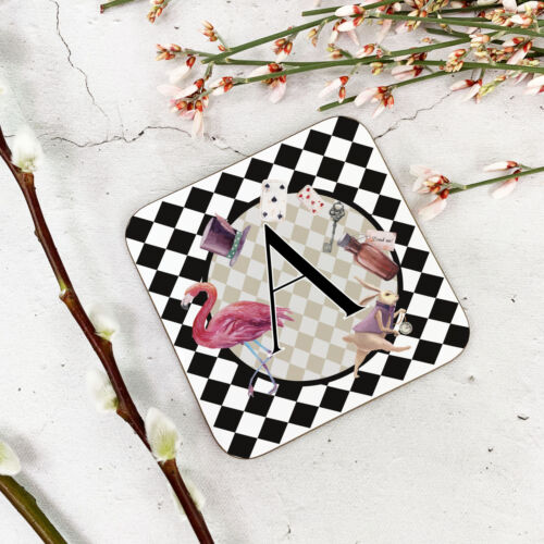 Alice in wonderland coaster can be personalised