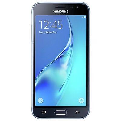 "Samsung Galaxy J3 Smartphone Black 8GB 5"" Touchscreen WiFi 4G Unlocked Sim Free"