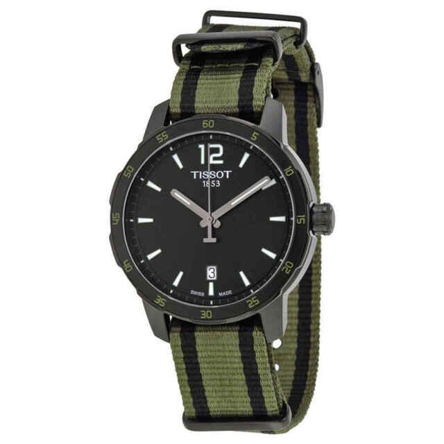 Tissot Quickster Black Dial Men's Watch T0954103705700