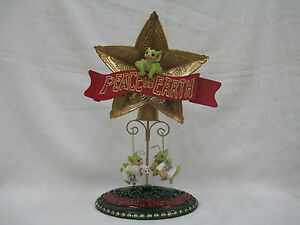 Peace Christmas Tree Topper.Details About Whimsical World Of Pocket Dragons Peace On Earth Christmas Tree Topper Ornaments