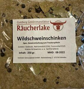 Wildschweinschinken-Poekelmischung-Gewuerzmischung-Poekeln-Raeuchern-Trockenpoekeln