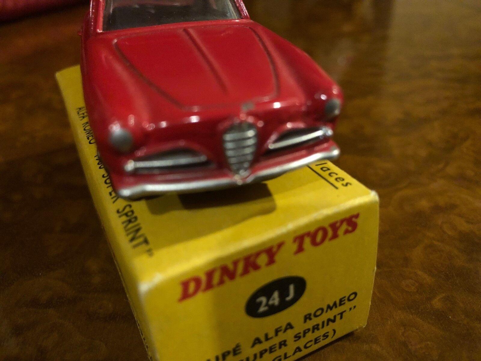 Vintage Dinky Toys MIB Alfa Romeo 1900 Super Sprint No. 24j