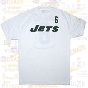 NEW-YORK-JETS-Reebok-Sanchez-6-White-Jersey-NFL-T-Shirt