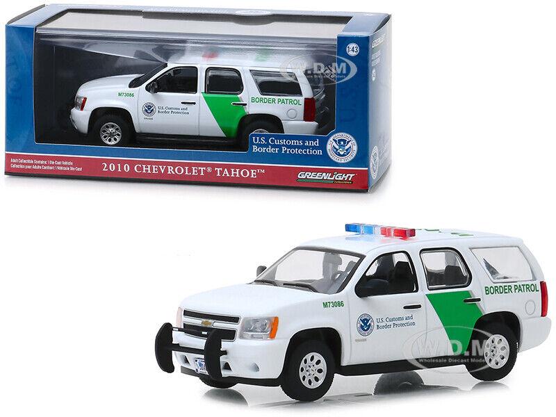 2010 Chevrolet Tahoe >> 2010 Chevrolet Tahoe Us Customs Border Protection Patrol 1 43 Greenlight 86163