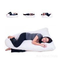 Lavish Home Full Contoured Body Pillow, Maternity/pregnancy Support Cushion