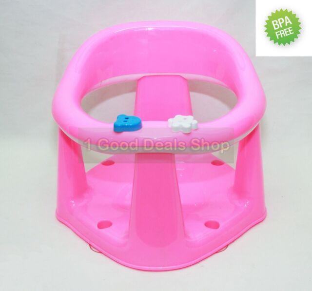 Premium Baby Bath Seat Bathroom Dinning Play Support Bar Strong ...