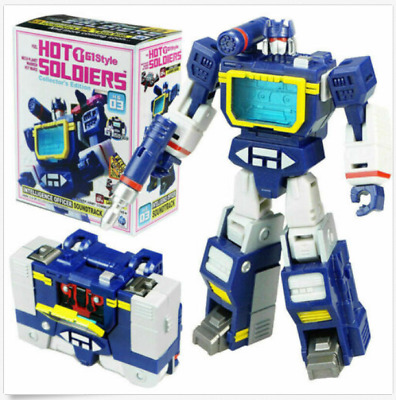 Hot Soldiers Transformation HS-03 HS03 Soundwave With Laserbeak G1 NEW IN BOX 09
