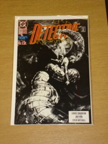 DETECTIVE COMICS #635 BATMAN DARK KNIGHT NM CONDITION SEPTEMBER 1991