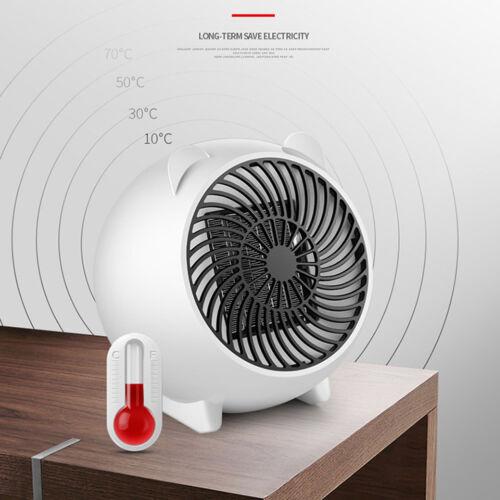 Tragbar 250W Mini Elektroheizer Lüfter Praktisch Luft Wärmer Lüftung Us Eu