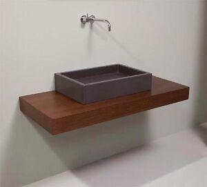 MOBILE BAGNO su misura in legno massello 150 cm | eBay