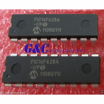 2PCS IC PIC16F648 MICROCHIP DIP-18 NEW PIC16F648A-I//P