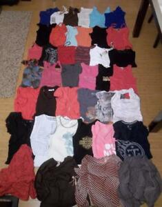 Lot-of-40-Mixed-Junior-Top-Size-S-Small-Express-H-amp-M-Forever-21-Guess-The-Limited