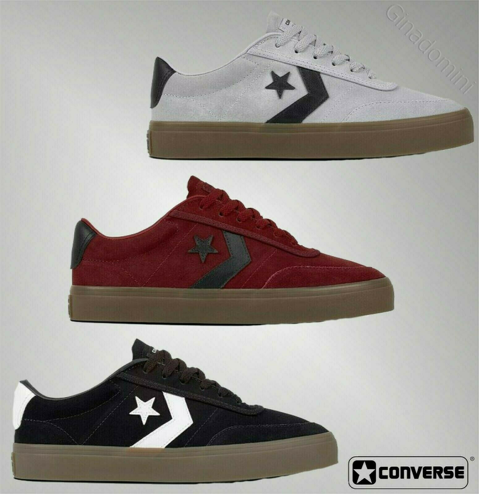 Mens Converse Lace Comfortable Courtland Trainers Footwear Sizes UK from 7 to 11