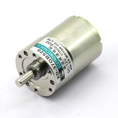 DC12//24V 5W 5-300RPM 25GA370 Micro DC Geared Motor Adjustable Speed Motor CW//CCW