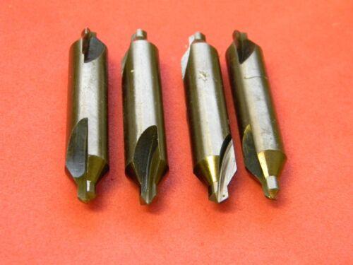 """Interstate Plain Combo Drill Countersinks 1//2/"""" x 7//32/"""" x 3/"""" HSSCo #612732"""