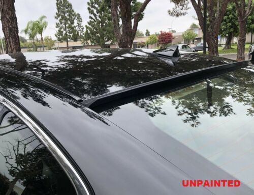 Unpainted Fit 2011-2012 INFINITI G25 SEDAN 4D Rear Window Roof Spoiler