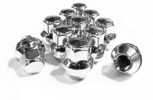 24x 2015-2019 Ford F-150 OEM Factory Style Replacement Lug Nuts 14x1.5 Chrome