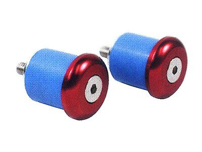 New Japan We Have Won Praise From Customers φ24 Diligent Nitto Ec-01 Red Bar End Cap Inside 20-22 Mm