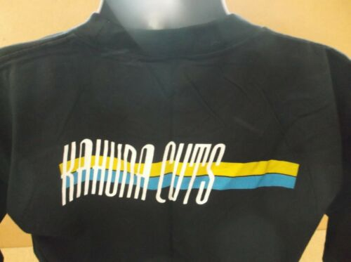 KAHUNA CUTS Label Logo UK black short sleeve promo t-shirt NEW/U