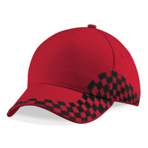 Personalised Embroidered Baseball Cap Grand Prix Racing Custom Printed Hat Unise