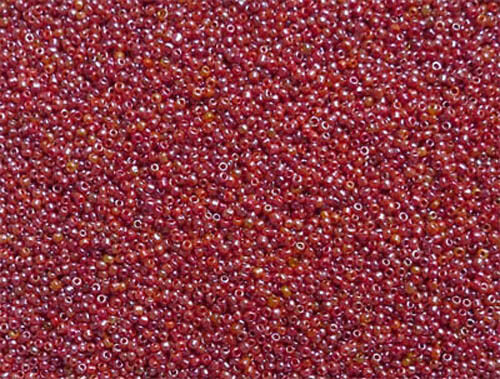 pour bijoux broderie Crafts etc 40 G Opaque Lustered Verre Seed Perles rouge