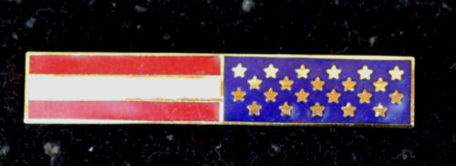 USA AMERICAN FLAG COMMENATION UNIFORM BAR HAT PIN US NAVY ARMY AIR FORCE MARINES