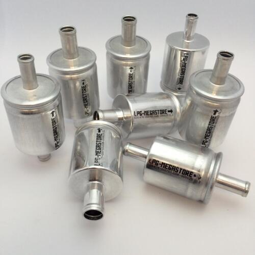 8x LPG Autogas Filter Gasfilter Universal 16mm Anschluss 16 mm GPL CNG Filter