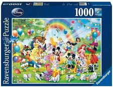 RAVENSBURGER PUZZLE*1000 TEILE*DISNEY*MICKEY FEIERT GEBURTSTAG*RARITÄT*OVP