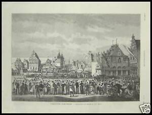 Marque De Tendance Gravure Exposition D ' Amsterdam Nederland 1887 La DernièRe Mode