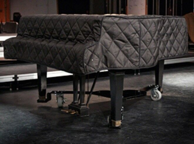 schwarz Quilted Grand Piano Cover - For Baby Grand Pianos between 7'7  - 9'0