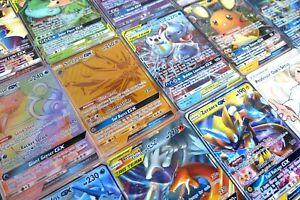 Pokemon-Tarjeta-Lot-10-oficial-Trading-Card-Game-Tarjetas-Ultra-Raro-incluido-GX-Ex-MEGA-o-secreta
