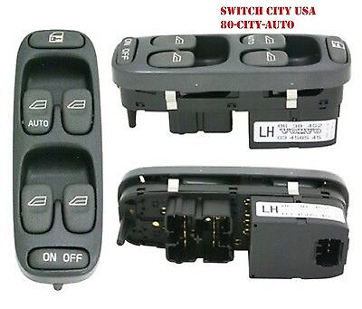 8638452 Electric Master Power Window Control Switch Fits Volvo V70 XC70 S70 1998 1999 2000 100/% New /Door Lock Front Left Driver-Side